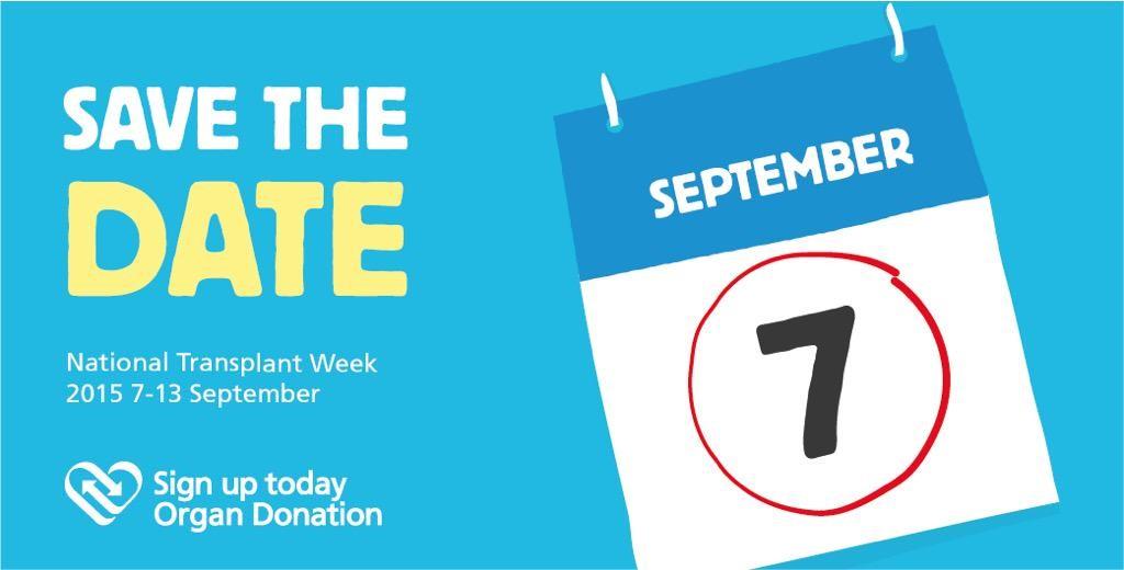 National Transplant Week Awareness Day